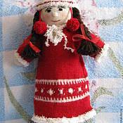 Куклы и игрушки ручной работы. Ярмарка Мастеров - ручная работа Вязаные игрушки - кукла  Таянэ. Handmade.
