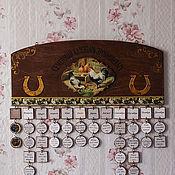Канцелярские товары handmade. Livemaster - original item A large family calendar country