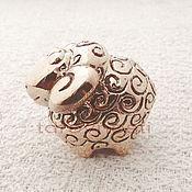 Для дома и интерьера handmade. Livemaster - original item Lamb miniature figurine. Handmade.