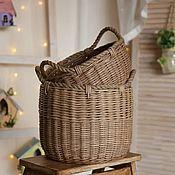 Для дома и интерьера handmade. Livemaster - original item Baskets: large storage baskets, a pair of baskets. Handmade.