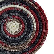 Аксессуары ручной работы. Ярмарка Мастеров - ручная работа Украшение на шею Lasso Twilight вязаное колье шарф бусы. Handmade.
