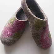 Обувь ручной работы handmade. Livemaster - original item Felted Slippers for women.. Handmade.