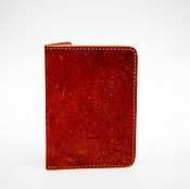 Канцелярские товары handmade. Livemaster - original item Genuine leather passport cover ( model 1 ). Handmade.