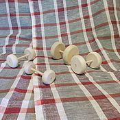 Материалы для творчества ручной работы. Ярмарка Мастеров - ручная работа колёсики токарные. Handmade.
