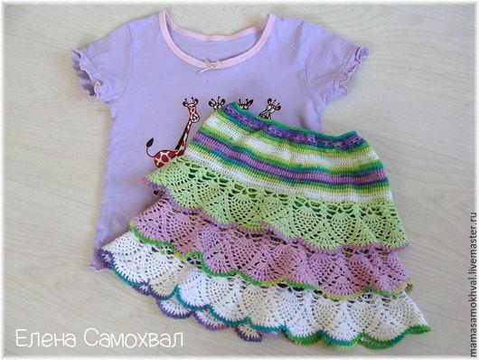 Одежда для девочек, ручной работы. Ярмарка Мастеров - ручная работа. Купить Юбочки для маленьких модниц. Handmade. Комбинированный, юбка с воланами