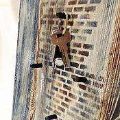 Для дома и интерьера ручной работы. Ярмарка Мастеров - ручная работа Ключница в стиле шале. Handmade.