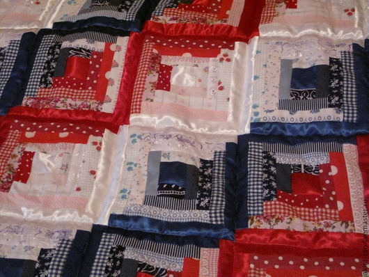 Текстиль, ковры ручной работы. Ярмарка Мастеров - ручная работа. Купить Одеяло/покрывало лоскутное ТРИКОЛОР. Handmade. Лоскутное одеяло, лоскутный