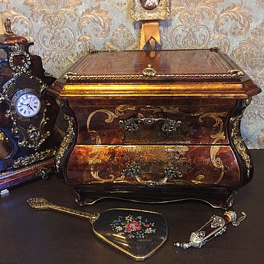 Для дома и интерьера ручной работы. Ярмарка Мастеров - ручная работа Мини-комод «Версаль». Handmade.