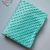 handmade. Livemaster - original item Minky Dot menthol plush (green). Handmade.