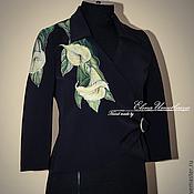 """Одежда ручной работы. Ярмарка Мастеров - ручная работа Жакет """"Каллы"""". Handmade."""