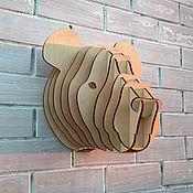 Для дома и интерьера ручной работы. Ярмарка Мастеров - ручная работа Голова панды (M). Handmade.