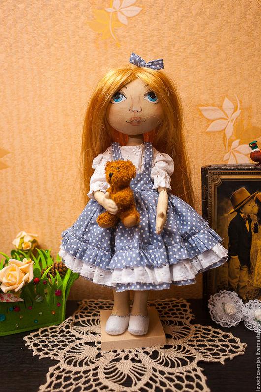 Коллекционные куклы ручной работы. Ярмарка Мастеров - ручная работа. Купить Текстильная кукла Римма.. Handmade. Комбинированный, коллекционная кукла