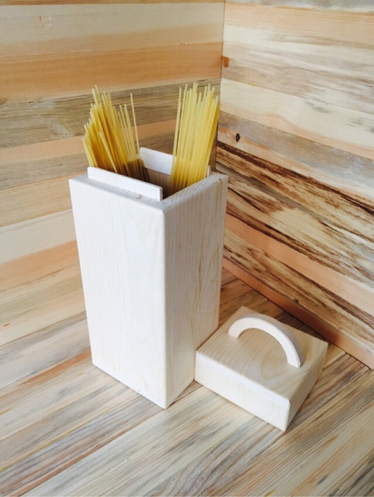 Декупаж и роспись ручной работы. Ярмарка Мастеров - ручная работа. Купить Короб для спагетти. Handmade. Короб для хранения, сосна