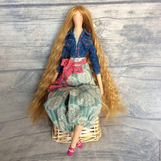 Куклы Тильды ручной работы. Ярмарка Мастеров - ручная работа. Купить Бэлла. Handmade. Тильда, кукла интерьерная, комбинированный