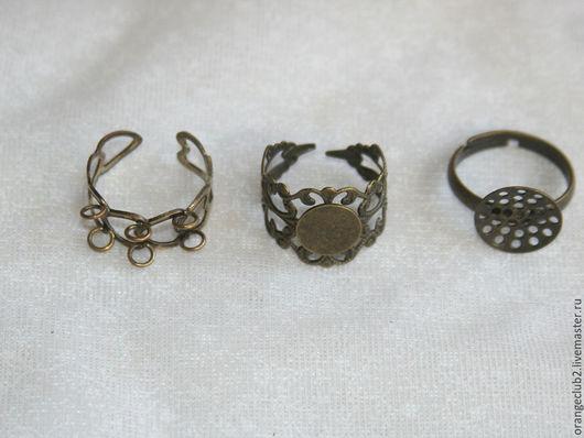 Для украшений ручной работы. Ярмарка Мастеров - ручная работа. Купить основа для кольца. Handmade. Основа для кольца