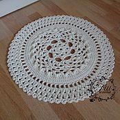 """Для дома и интерьера ручной работы. Ярмарка Мастеров - ручная работа Вязаный коврик """"Стиль"""", из пэ 3мм. Handmade."""
