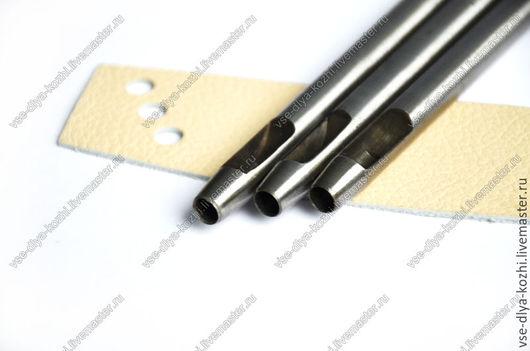 Другие виды рукоделия ручной работы. Ярмарка Мастеров - ручная работа. Купить Пробойник для кожи (круглый, 6 мм.). Handmade.