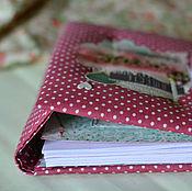 """Свадебный салон ручной работы. Ярмарка Мастеров - ручная работа Дневник невесты """"Ягодная прелюдия"""" свадебный альбом блокнот невесты. Handmade."""