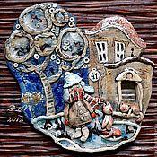 """Картины и панно ручной работы. Ярмарка Мастеров - ручная работа """"встреча"""". Handmade."""