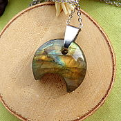 Украшения handmade. Livemaster - original item Moonlight pendant with labrador. Handmade.