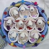 """Куклы и игрушки ручной работы. Ярмарка Мастеров - ручная работа Мягкая игра на развитие памяти """"Меее-морина"""". Handmade."""