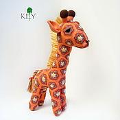 Куклы и игрушки ручной работы. Ярмарка Мастеров - ручная работа Жираф Бока. Handmade.