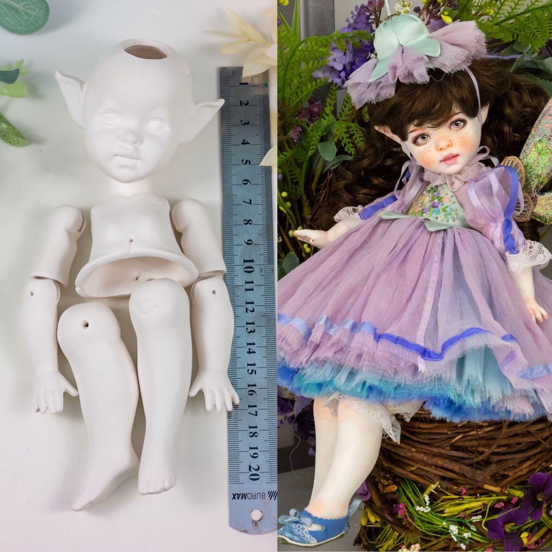 Набор для создания куклы феи №1.31 Полушарнирная кукла 38 см, Заготовки для кукол и игрушек, Севастополь,  Фото №1