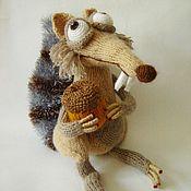 Куклы и игрушки ручной работы. Ярмарка Мастеров - ручная работа Белка  из ледникового периода, игрушка. Handmade.