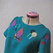 """Одежда ручной работы. Ярмарка Мастеров - ручная работа Платье""""Хундертвассер"""" №7. Handmade."""