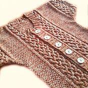 Одежда handmade. Livemaster - original item Knitted wool vest. Handmade.