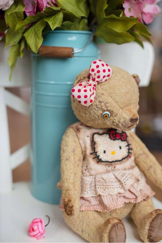 Мишки Тедди ручной работы. Ярмарка Мастеров - ручная работа. Купить Мишка Тедди Миа. Handmade. Мишка тедди
