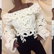 Одежда handmade. Livemaster - original item Cropped cardigan from the collection