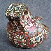 Русский стиль handmade. Livemaster - original item Bucket Konik large. Handmade.