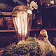 """Освещение ручной работы. Настольная лампа """"Мишкина лампа"""". Дизайн-мастерская EcoShiningHome (eco2014). Ярмарка Мастеров. Светильник ручной работы"""
