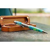 handmade. Livemaster - original item Gift ballpoint pen Sonata in a case. Handmade.