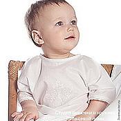 Работы для детей, handmade. Livemaster - original item Baptismal shirt art. 80. Handmade.