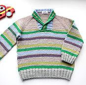 Работы для детей, ручной работы. Ярмарка Мастеров - ручная работа Детский свитер. Handmade.