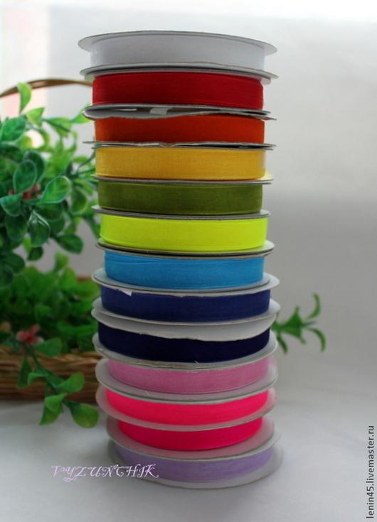 Шитье ручной работы. Ярмарка Мастеров - ручная работа. Купить Капроновая лента 10 мм 19 цветов. Handmade. Лента