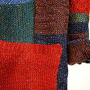 """Одежда ручной работы. Ярмарка Мастеров - ручная работа Джемпер """"Геометрия цвета"""". Handmade."""