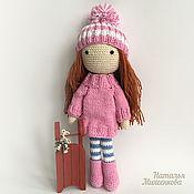 Куклы и игрушки ручной работы. Ярмарка Мастеров - ручная работа Вязанная куколка. Handmade.
