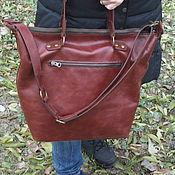 Сумки и аксессуары handmade. Livemaster - original item Leather bag EASY. Handmade.