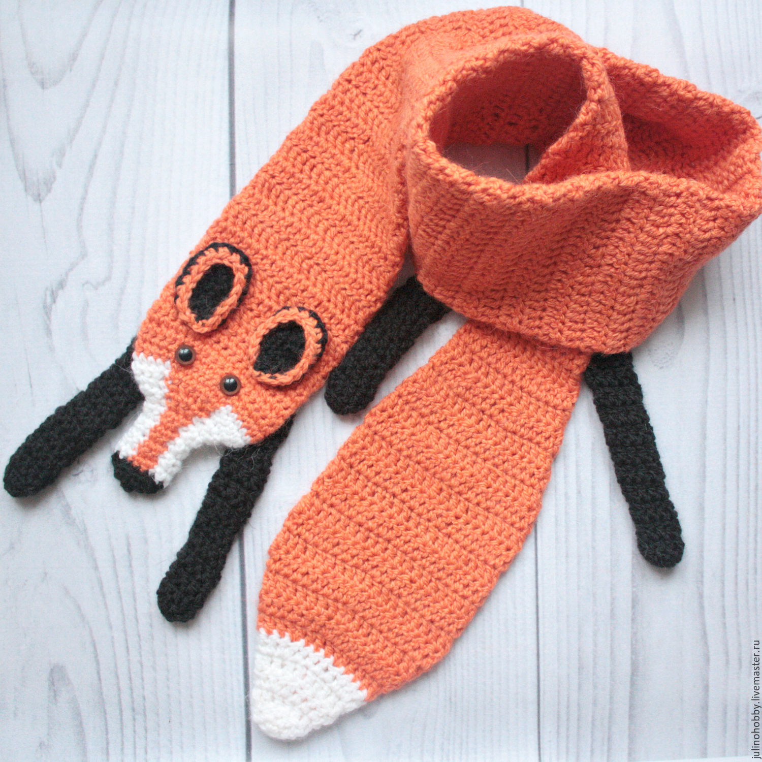 Scarf Fox Shop Online On Livemaster With Shipping 7ziprcom Moscow