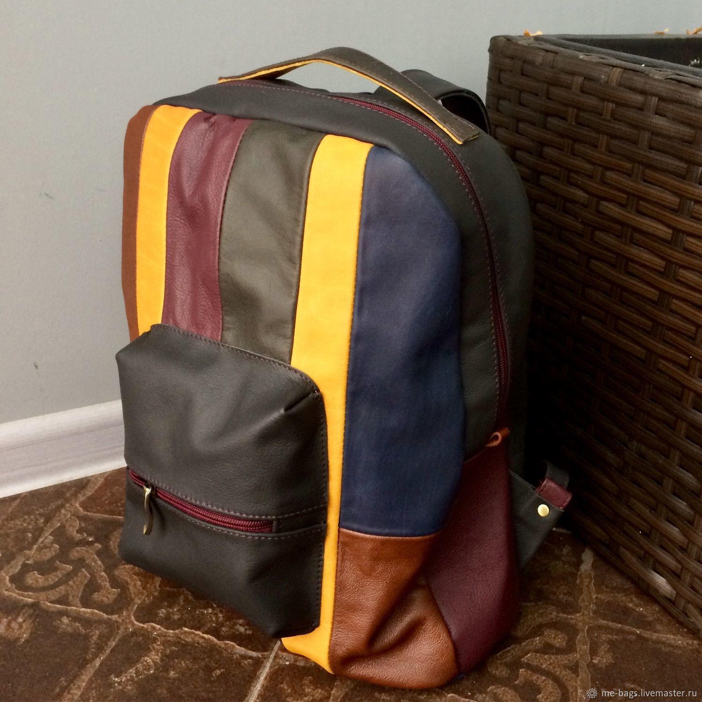 Рюкзаки ручной работы. Ярмарка Мастеров - ручная работа. Купить Brooclyn. Кожаный  рюкзак. cd85d648355