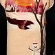"""Одежда для девочек, ручной работы. Детский вязаный сарафан """"Зима"""". ЭКСКЛЮЗИВНАЯ ТРИКОТАЖНАЯ ОДЕЖДА. Ярмарка Мастеров. Зима, шерсть меринос"""