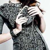 """Одежда ручной работы. Ярмарка Мастеров - ручная работа Платье """"Серо-зеленое"""" (продано). Handmade."""