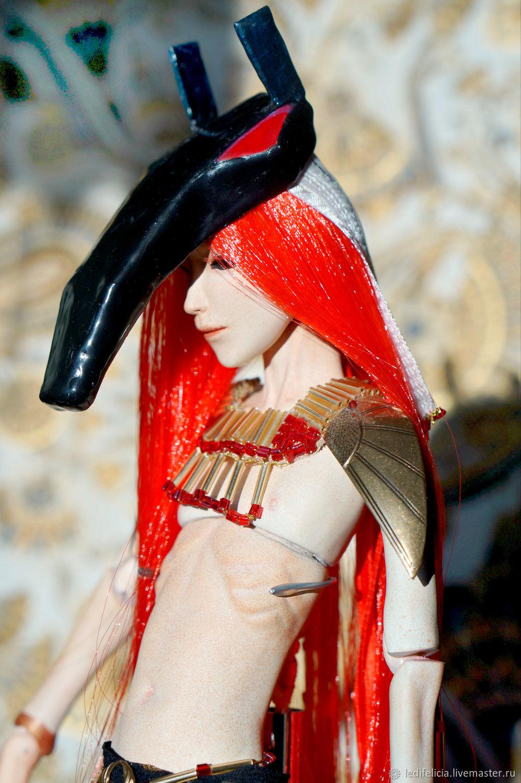 Сет - бог пустыни, Шарнирная кукла, Пенза,  Фото №1