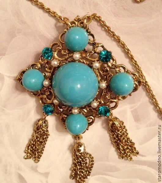 Винтажный кулон-брошь 1928 Jewelry.