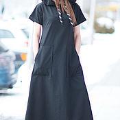 Одежда handmade. Livemaster - original item Black dress