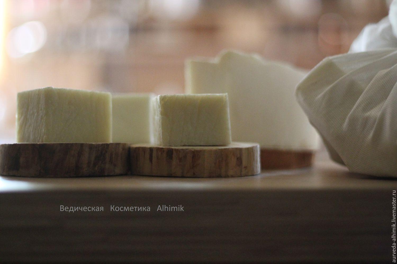 Мыльница деревянная (спил ствола осины, ольхи или березы), Мыло, Москва, Фото №1