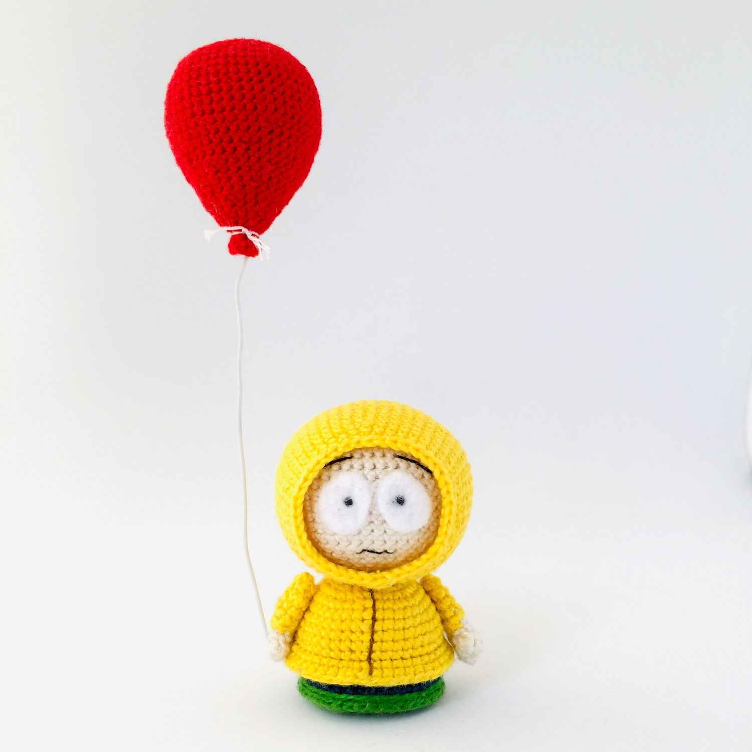 "Georgie from the ""It"" movie stylized as South Park, Movie souvenirs, Moscow,  Фото №1"
